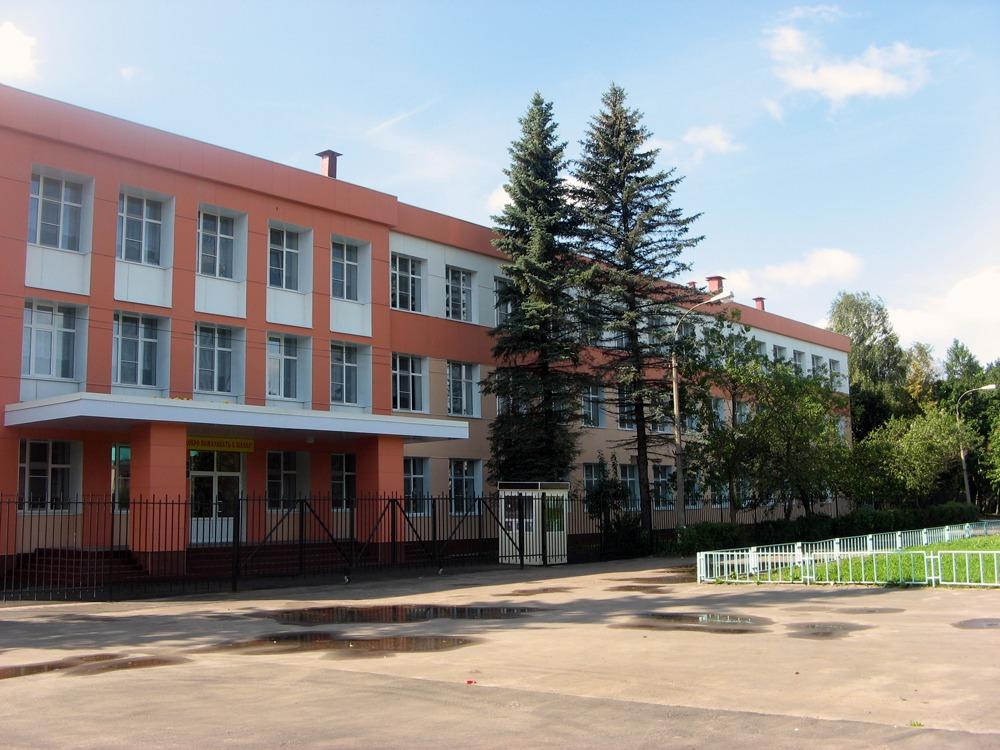 Фиброплиты на школе - Черноголовка