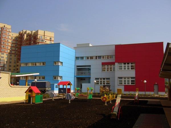 Фиброплиты на детском саду - Одинцово