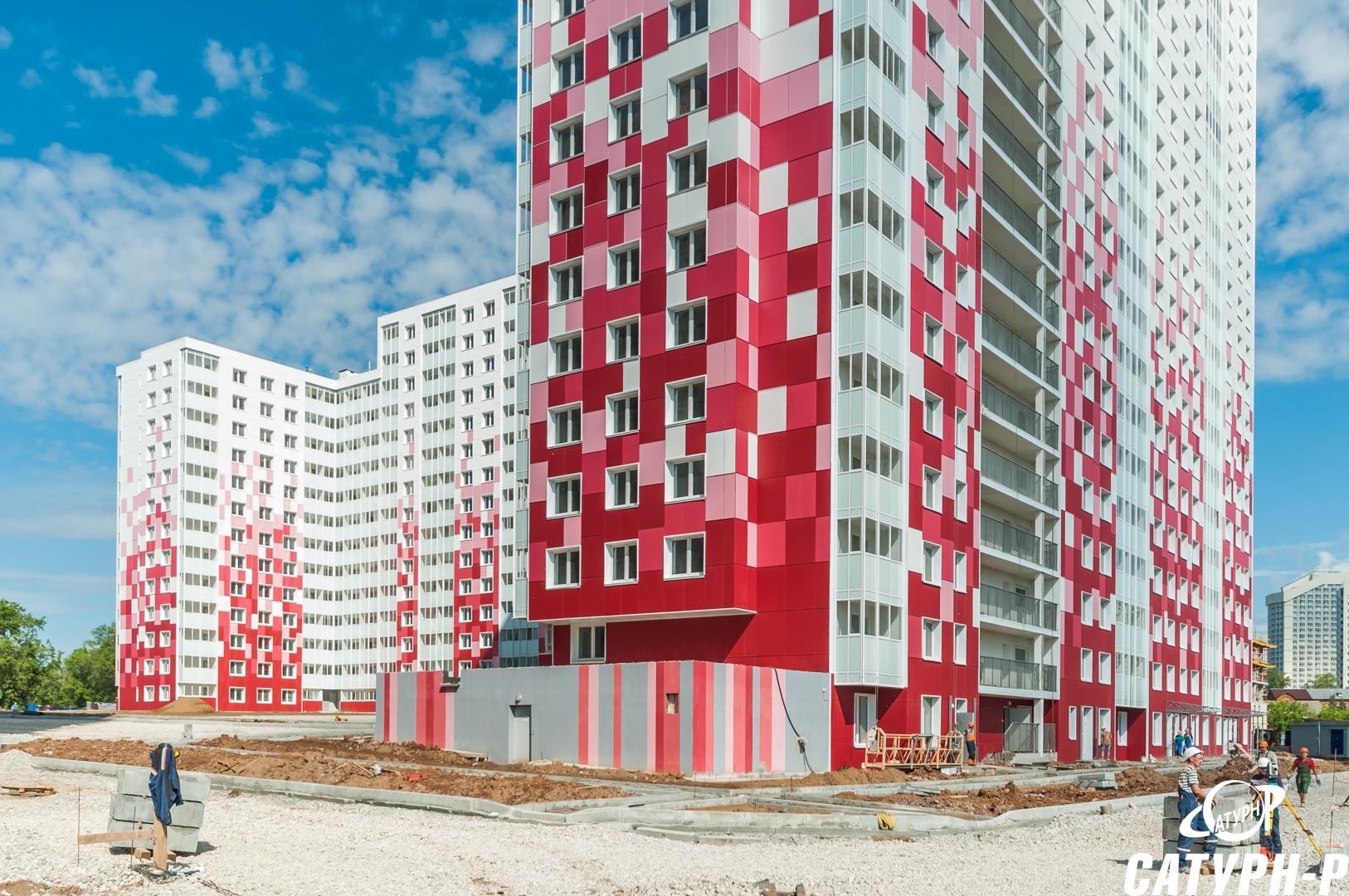 утепление жилого многоэтажного дома