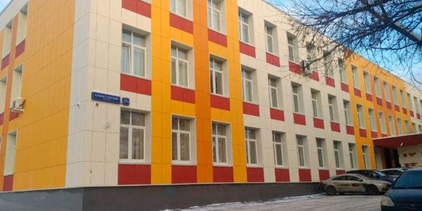 Колледж - Москва - Кронштадтский бульвар 37Б - Фиброплита НГ