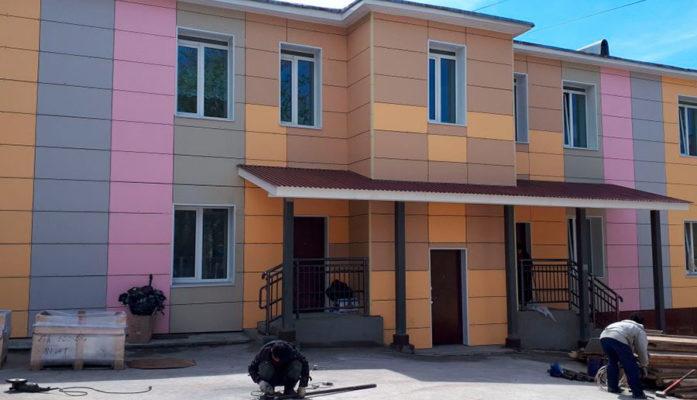 Жилой дом - Хабаровск - Фиброплита