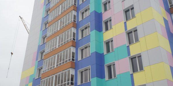 Жилой дом - Пермь - Кронштадтская 43 - Фиброплита ФАСАД-КОЛОР