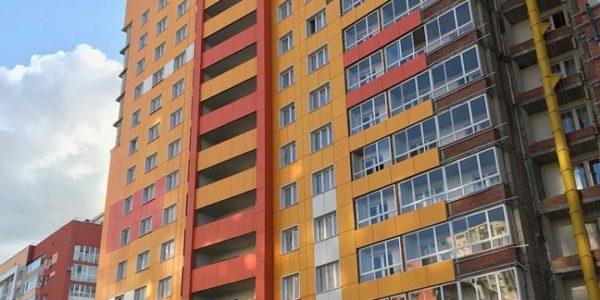 Жилой дом - Уфа - ЖК Юлай - Фиброплита ФАСАД-КОЛОР