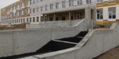 В крупном селе Курганской области строят новую школу